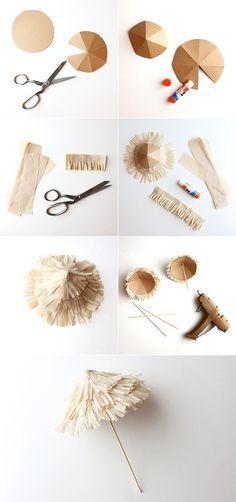 DIY Tiki Drink Umbrellas | alanajonesmann.com