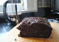 Double Chocolate Zucchini Bread: A Healthier Sweet Treat - substitue butter for applesauce... RachaelRay.com