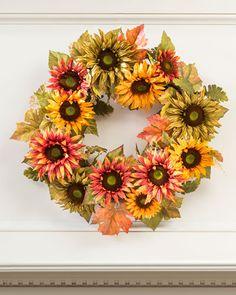 Autumn Sunflower Sil