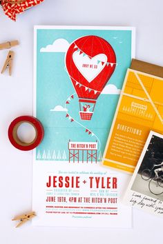 Wedding Invitations by One Plus One