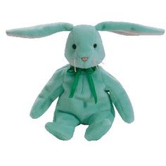 08128b651d1 Hippity the mint bunny ty beanie baby - retired Kids Toy Store