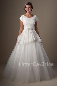 Modest Wedding Dresses : Golding. Latter Day Bride, Gateway Bridal & Prom