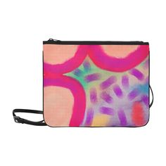 Statement Clutch - Funky Abstract Art by VIDA VIDA