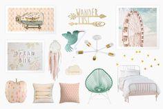 Dream Big Little One : Girly Room Decor
