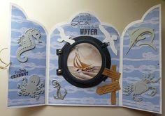 Dutch Doobadoo card art Triptech 470.713.310 You can cross the Sea binnenkant