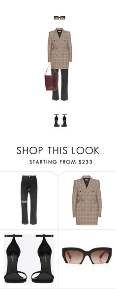 """7:52 pm"" by citizensofearth ❤ liked on Polyvore featuring Alyx, Balenciaga, Yves Saint Laurent, Miu Miu and CÉLINE"