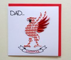 Sunflower Cards, Red Envelope, 3d Cards, Fathers Day Cards, Beautiful Artwork, All Print, Quilling, Birthday Cards, Dads