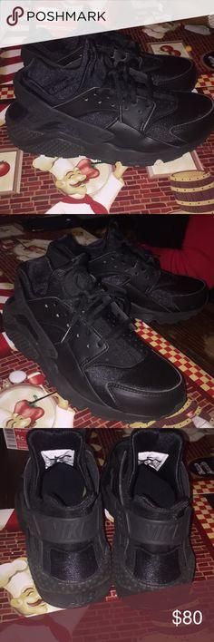 d24b5592f Black women sneaker Air huarache Nike Shoes Sneakers