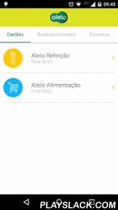 Meu Alelo  Android App - playslack.com ,  Aplicativo oficial dos cartões Alelo Benefícios para consulta de saldo, extrato e busca de estabelecimentos para os usuários dos cartões: - Alelo Refeição (nas bandeiras Elo e Visa Vale)- Alelo Alimentação (nas bandeiras Elo e Visa Vale)- Alelo Auto- Alelo Cultura- Natal Alimentação- Flex Car Visa Vale FUNCIONALIDADES DO APLICATIVO:- Acesso mais seguro – entre no aplicativo com seu login e senha do Meu Alelo e edite suas informações pelo app…