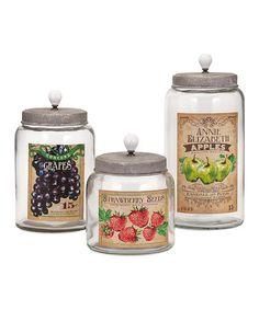 Modern Kitchen Jars