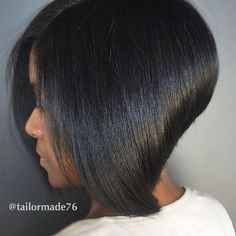 STYLIST FEATURE| This bob is everything by #atlstylist @tailormade76 ✂️ Gorgeous cut❤️ #voiceofhair ========================== Go to VoiceOfHair.com ========================= Find hairstyles and hair tips! =========================