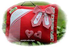Geldgeschenke - Hochzeit Geldgeschenk - Herz - personalisierbar - ein Designerstück von antjesdesign bei DaWanda