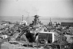 La ville de Brest et ses installations portuaires. - ECPAD