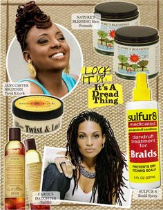 Lock It Up: It's A Dread Thing  - HueKnewIt.com - the scoop on the newest must-have products for the face, body and hair!