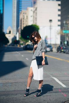 We're Calling It: High Slits Will Be Everywhere ThisSpring | StyleCaster