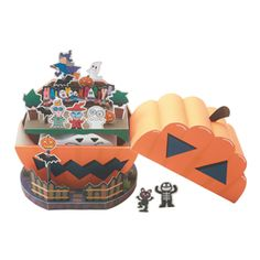 HALLOWEEN HOUSE - Seasons - Toys - Paper Craft - Canon CREATIVE PARK