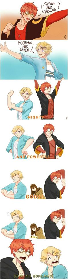 Mighty and powerful GODS by PeruGirl199