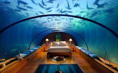 Luxury Hotel Goes Underwater - Watch hotel report now on HOTELIER TV: http://www.hoteliertv.net/international/luxury-hotel-goes-underwater/