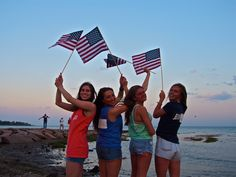 These girls have got pride for their country and their hometown in the 203!