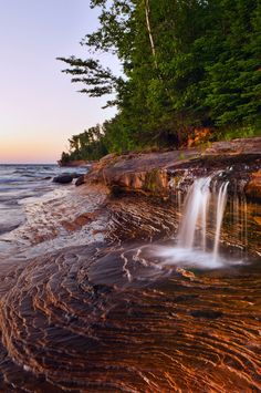 Explore 40 miles of Pictured Rocks National Lakeshore in Michigan and see amazing views!