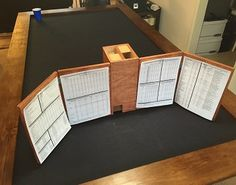 Post with 98871 views. Wooden DM Screen and Dice Tower Virtual Tabletop, Tabletop Rpg, Tabletop Games, Dungeon Master Screen, Dm Screen, Pen & Paper, Design Creation, Dungeons And Dragons Game, Dice Tower
