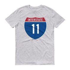 Interstate Travelin' Tee