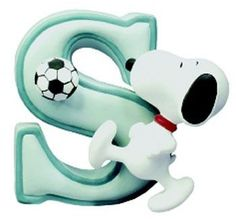 ABC Snoopy - MFP Alfabetos & Números - Álbumes web de Picasa