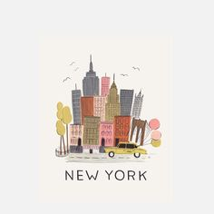 Rifle Paper Co.: New York Print, at 10% off!