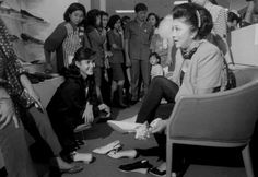 Imelda Marcos, the former First Lady of the Philippines, was known around the world for her ridiculously massive collection of fancy footwear. But the collection of around 2,700 shoes is largely ruined by termites and water damage thanks to neglect by the museum that kept the collection.  ImagebySTR/Stringer / Getty Images