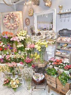 florist window display ideas | 25+ best ideas about Flower Shop Interiors on Pinterest | Florist shop ...