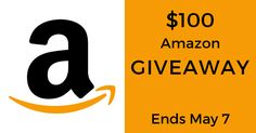 Enter for a chance to win a $100 Amazon eGift Card. Giveaway ends on May 7!