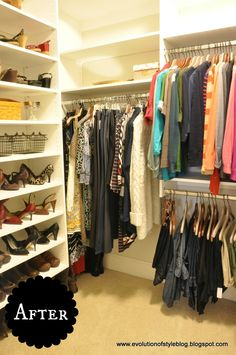 Evolution of Style: Master Closet Progress and Plans