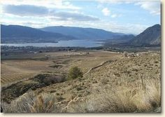 Canada's only desert extends past Osoyoos Lk to Skaha Lk, and west up the Similkameen Valley towards Keremeos, aprox 15 mi.