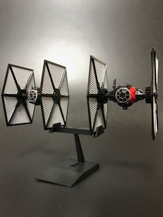 BANDAI VM04 FIRST ORDER TIE FIGHTER Set (1/144) by SirMiles