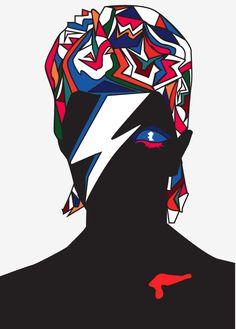 David Bowie Vector por ApocalypseAlex