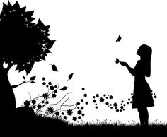 Find images of Silhouette. ✓ Free for commercial use ✓ No attribution required ✓ High quality images. 4 Image, School Murals, Do Perfect, Silhouette Art, Silhouette Portrait, Children Images, Vintage Children, High Quality Images, Stencils