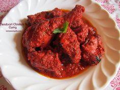Chicken Tandoori Masala Recipe/Chicken Tandoori in Gravy Recipe   Yummy Recipes