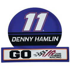 "Denny Hamlin 13.5"" x 16.5"" Jumbo Tailgate Car Magnet - $21.99"
