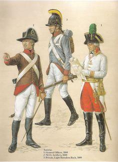 OFICIAL GENERAL AUSTRIACO(1796 )