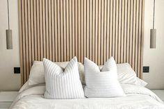 Wood Slat Wall, Wooden Panelling, Wooden Wall Panels, Wood Panel Walls, Wood Wall Paneling, Wooden Slats, Diy Wall Panel, Wood Slat Ceiling, Wooden Wall Design