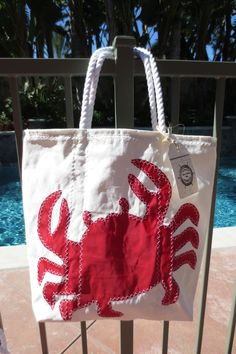 44 Knots Recycled Sailcloth Beach Tote