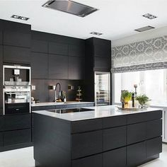 Looking for luxury kitchen design ideas? Take a look at our leading 63 favorite instances of seriously elegant luxury kitchens and unique. Kitchen Trends, Kitchen Sets, Living Room Kitchen, Kitchen Layout, Home Decor Kitchen, New Kitchen, Small Space Kitchen, Small Spaces, Kitchen Lamps