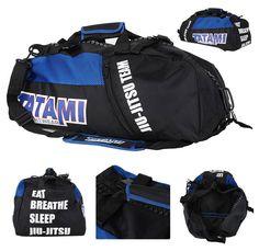 Tatami Jiu Jitsu Gear Bag - Black at http://www.fighterstyle.com/tatami-jiu-jitsu-gear-bag/