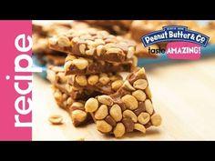 Dark Chocolate Dreams Peanut Brittle recipe #tasteamazing