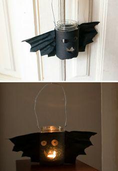 Bat latern / Fledermaus Laterne