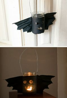 Bat latern / Fledermaus Laterne