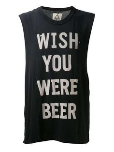 Unif | 'Wish You Were Beer' tank #unif #tank #top