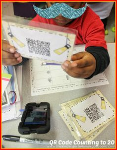 QR Code counting and writing to 20!