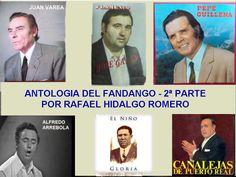 ANTOLOGIA DEL FANDANGO 2ª PARTE -  POR RAFAEL HIDALGO ROMERO