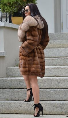 NEW SUPERIOR MINK FUR COAT CLASS OF SABLE CHINCHILLA FOX JACKET LONG VEST TRENCH | eBay